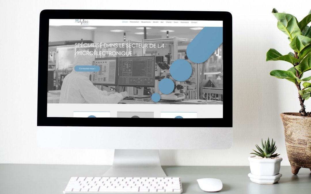 Une nouvelle identité et un nouveau site web pour Polytec industrie