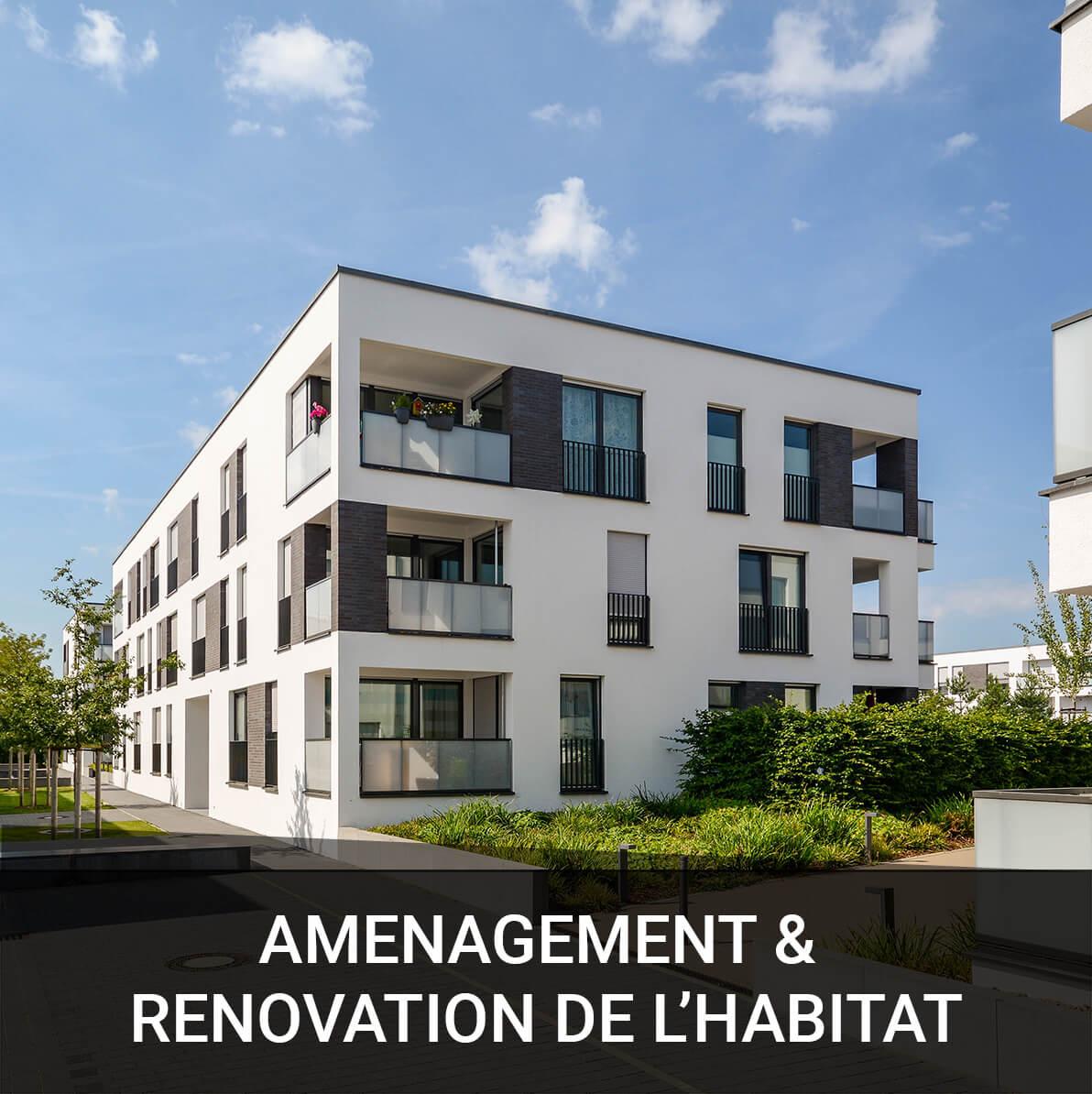 Image représentant les réalisations d'aménagement et rénovation de l'habitat