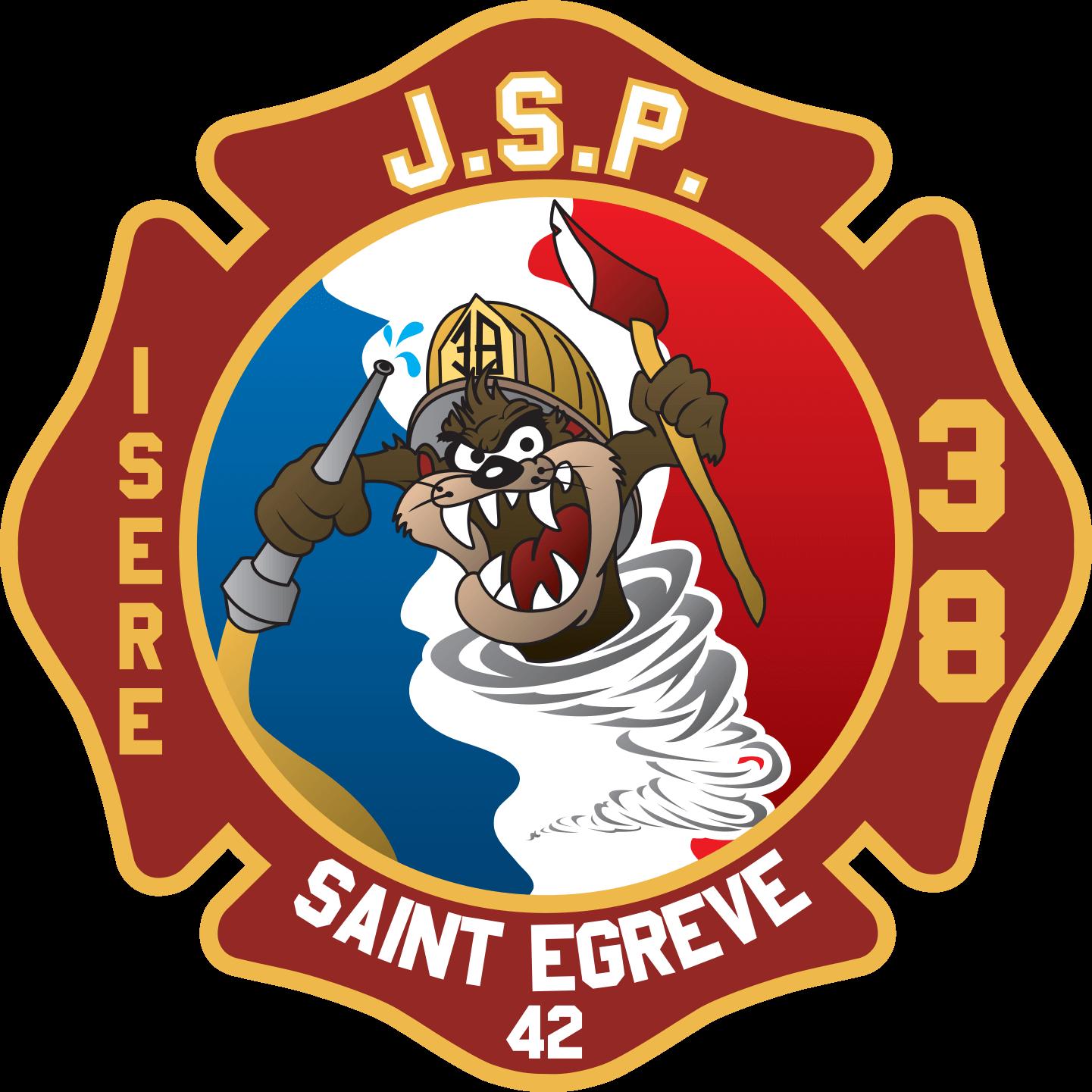 logo jeune sapeur pompier de St Egrève